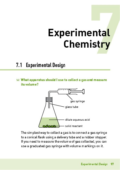 Explain That GCE 'O' Level Science: Chemistry Section