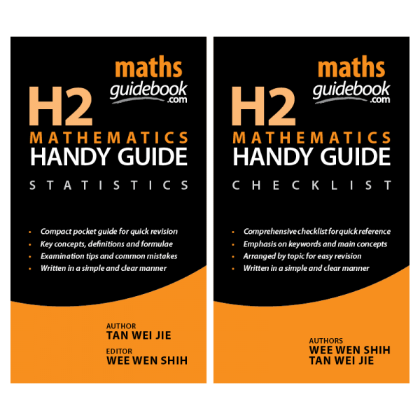 H2 Mathematics Handy Guide: Statistics and Checklist